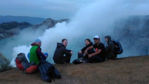 the nice trip in ijen crater