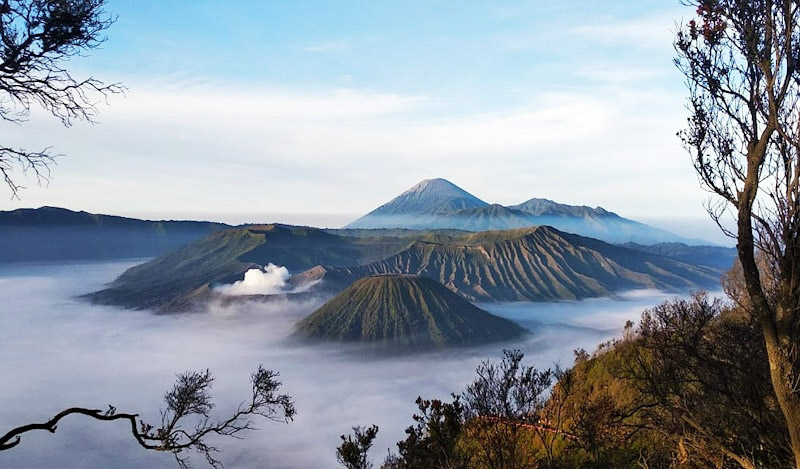 view of mount bromo 1